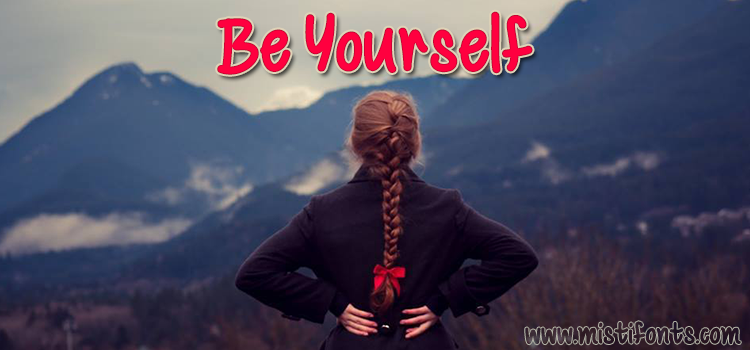 Be Yourself sample image