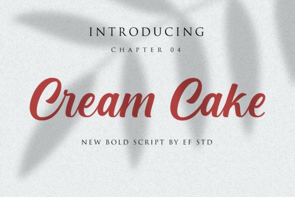 Cream Cake sample image