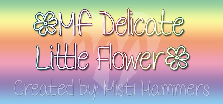 Mf Delicate Little Flower sample image