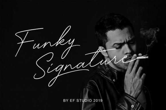 Funky Signature sample image