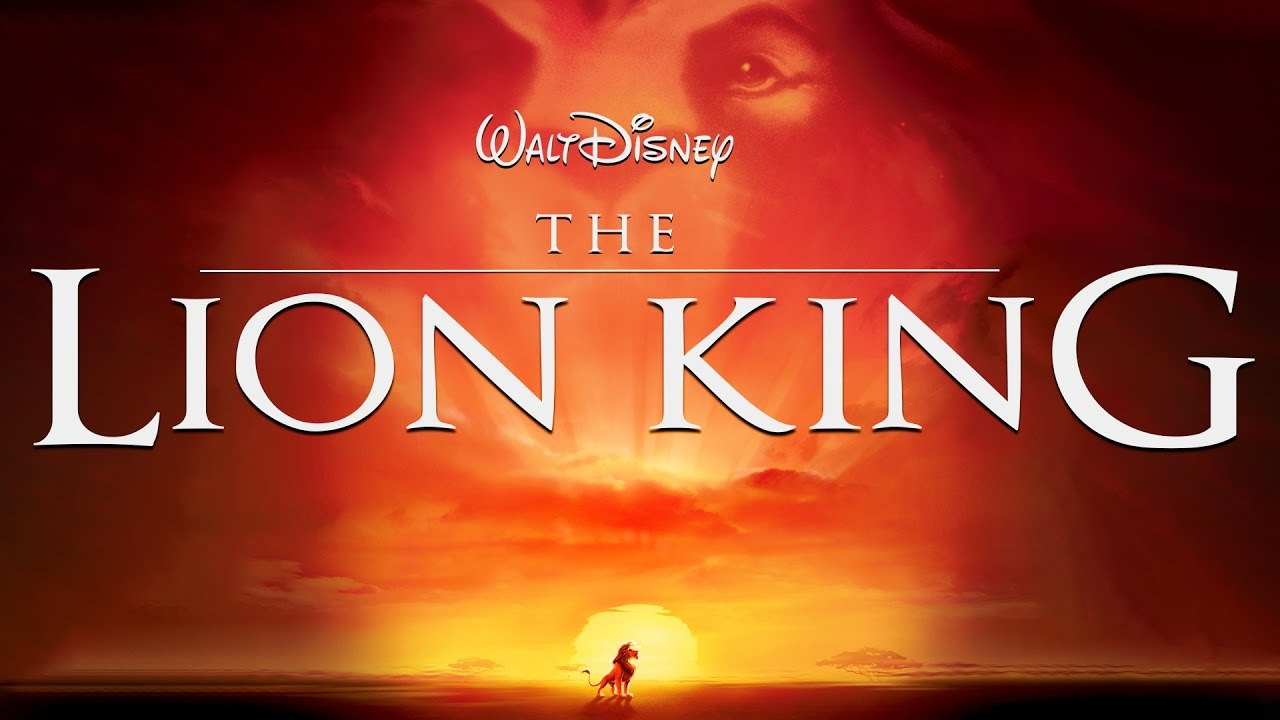 Lion King Font on Poster