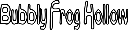 Bubbly Frog Hollow example