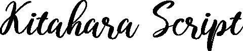 Kitahara Script example