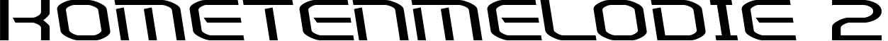 Kometenmelodie 2 example
