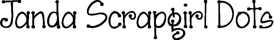 Janda Scrapgirl Dots example