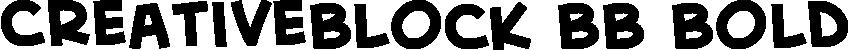 CreativeBlock BB Bold