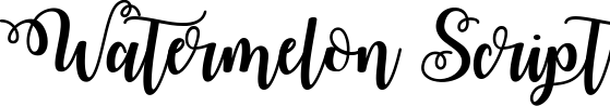 Watermelon Script