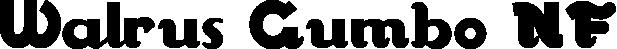 Walrus Gumbo NF