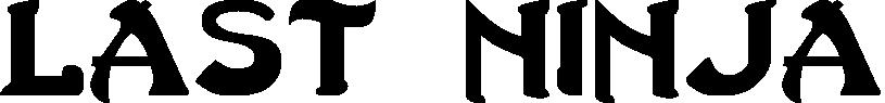 Last Ninja title image
