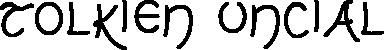 Tolkien Uncial