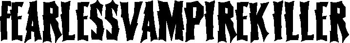 FearlessVampireKiller example