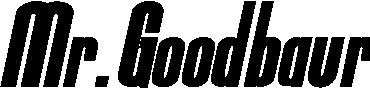 Mr.Goodbaur title image