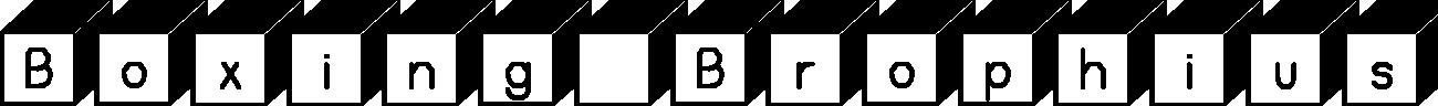 Boxing Brophius example