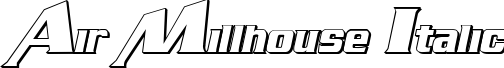 Air Millhouse Outline