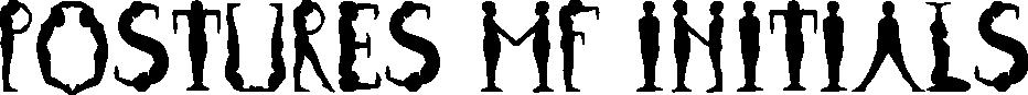 Postures MF Initials example