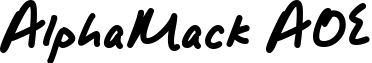 AlphaMack AOE example