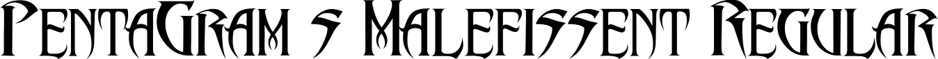 PentaGram's Malefissent Regular example