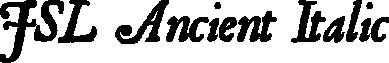 JSL Ancient Italic