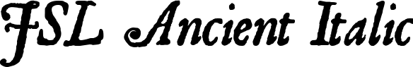 JSL Ancient Italic example