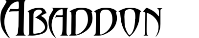 Abaddon™ example