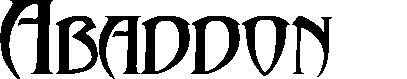 Abaddon™ title image