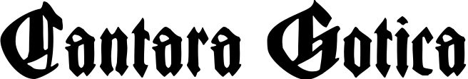 Cantara Gotica example