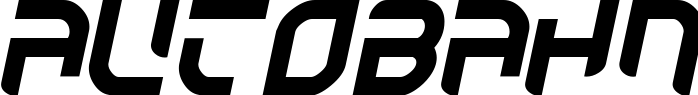 Autobahn title image