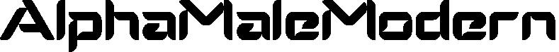 AlphaMaleModern example