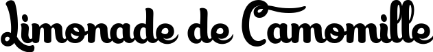 Limonade de Camomille title image