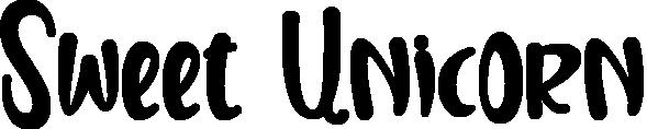 Sweet Unicorn title image