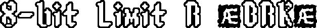 8-bit Limit RO (BRK)