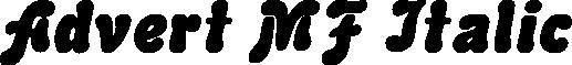 Advert MF Italic