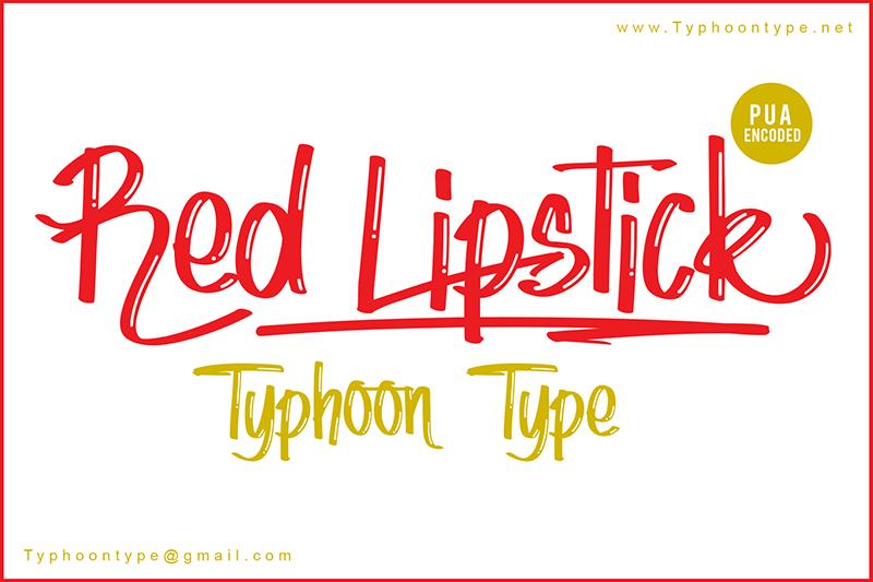 Red Lipstick sample image