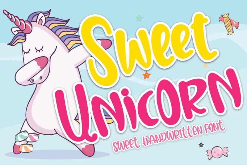 Sweet Unicorn sample image