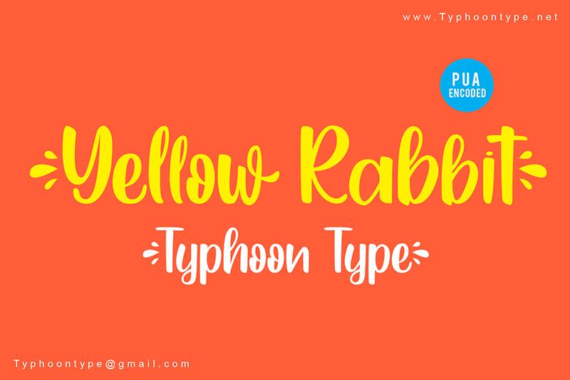 Yellow Rabbit sample image